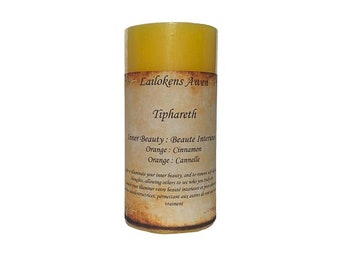 """Lailokens Awen Tiphareth - Inner Beauty 2"""" x 4"""" Scented Spell Candle"""