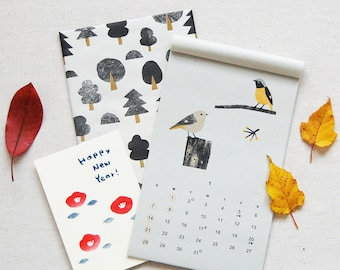 SALE!!【30%OFF】2018 Wild Bird Calendar