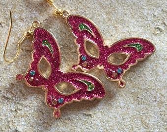 Mardi Gras Earrings, Mardi Gras Jewelry, Earrings
