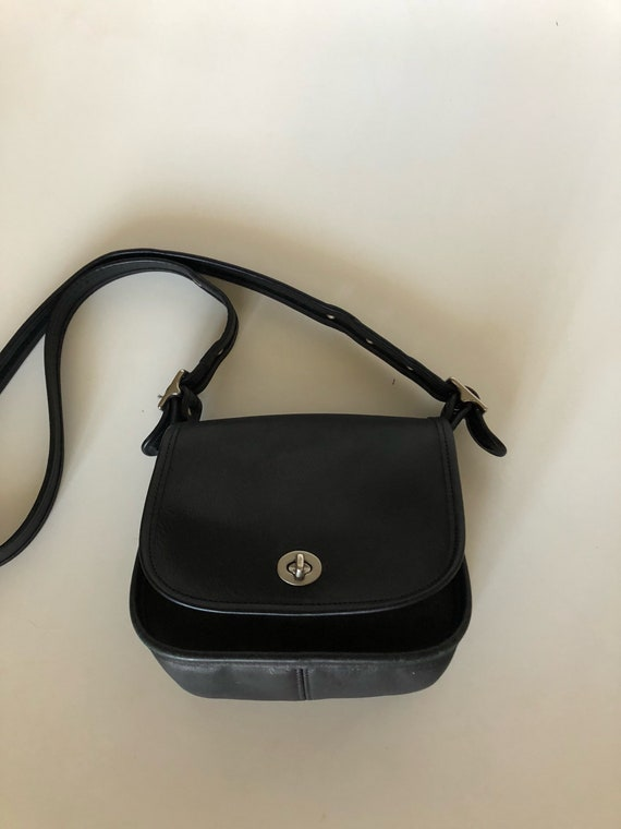 Vintage Coach Classic Leather Handbag Bonnie Cashi