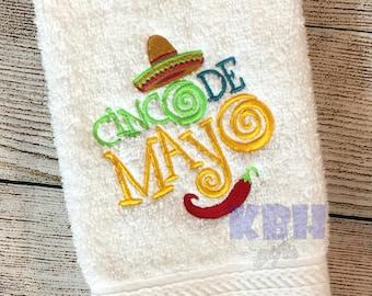 Cinco de Mayo Hand Towel