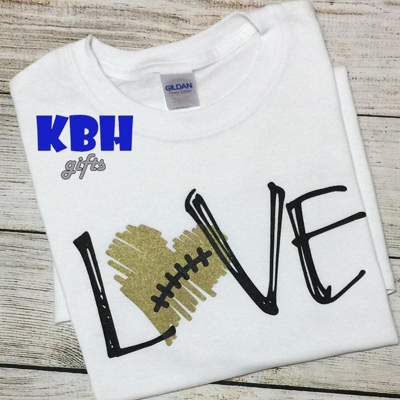 Love Football Game Day Shirt