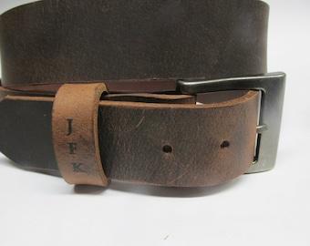mens brown leather jeans belt uk antique