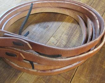 2 Tone Braided Nylon Round Rope Barrel Racing Roping Reins 2 Trigger Snaps 8/'