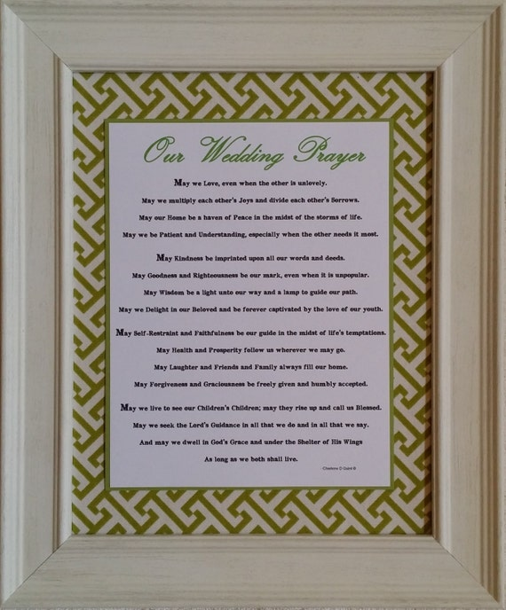 Our Wedding Prayer-Cottage Chic Collection