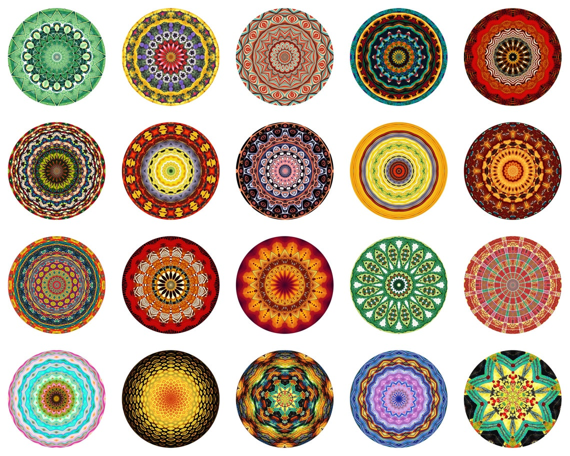 Bohemian Round Area Rugs by BathroomDecor