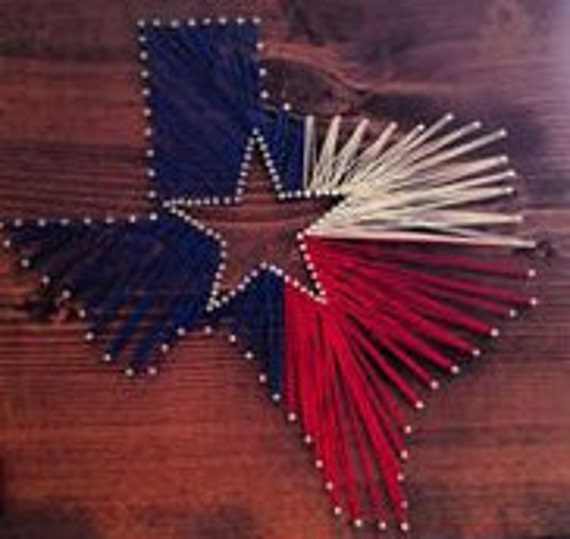 String Art Patterns All 50 States And Usa String Art Etsy