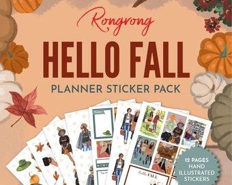 Planner Fashion Stickers