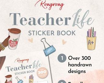 Teacher life sticker book