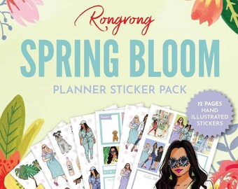 Spring Bloom Sticker Pack