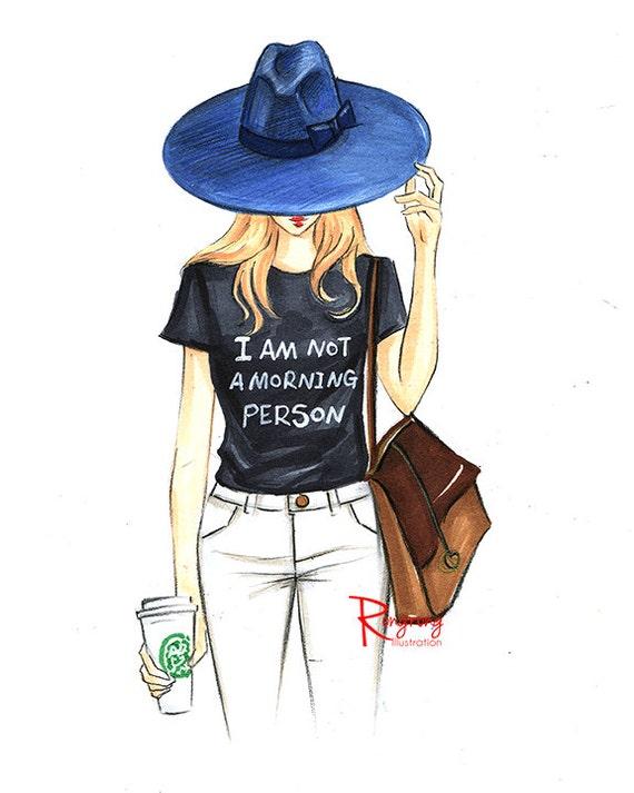 Items similar to Fashion illustration,Fashion art,Fashion ...