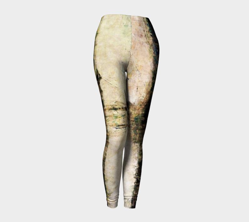 1c00dc0261fd92 Unisex Yoga Leggings/Leggings/Yoga Pants /Unisex | Etsy