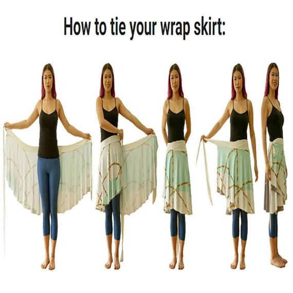 Sweet Rose Wrap Skirt Soft Easy Care Dance Skirt Yoga Party Skirt Wraparound Skirt Blush Pink Blue Green Skirt Teal Gray Ballet Skirt