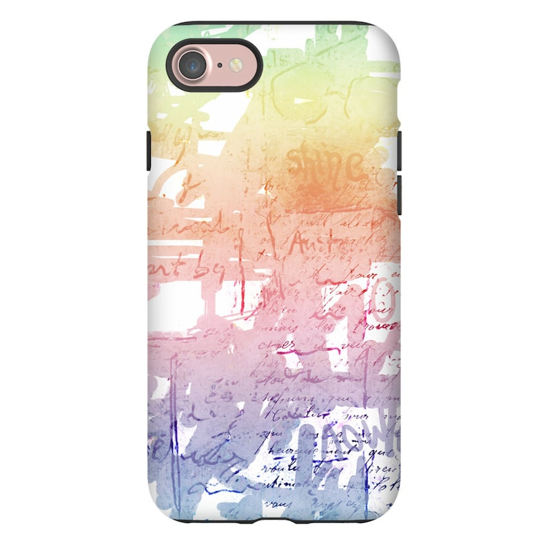 Watercolor Graffiti Art Iphone X Case Iphone Xs Max Cases For image 0
