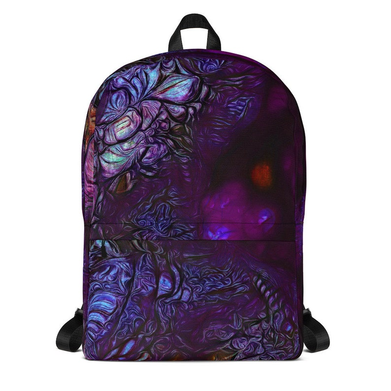 Purple Backpack with Inside Pocket for 15 Laptop 42 x image 0
