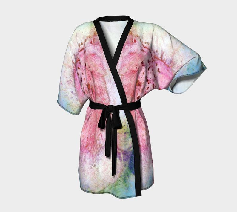 2f6ed74a08 Kimono Robe Japanese Kimono Chiffon Robe Bridesmaid Robes