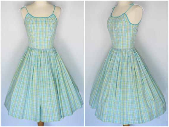 vintage 1950s jonathan logan sundress, jonathan lo