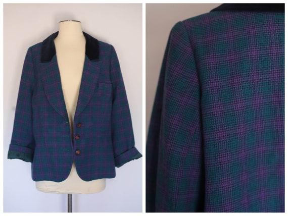 vintage pendleton wool jacket blazer, pendleton bl