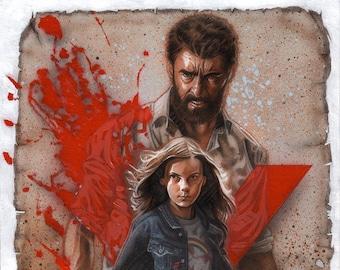 Logan/X-23 11x14 print