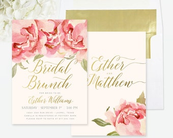 bridal brunch invite etsy