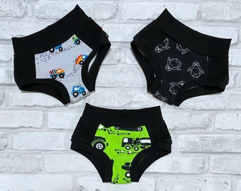 Custom Toddler Training Pants -  environmentally friendly Potty Training Underwear - Absorbent Underwear for Kids - pull ups - trainers