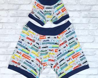 Custom Daddy and Me Underwear Set - Custom Order - Matching Boxer Set, Boxerwear, Boxerbriefs