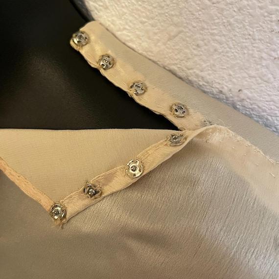 Antique Silk Lace Blouse Shirt Victorian - image 2