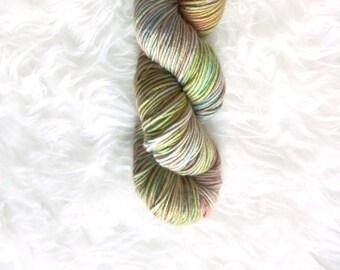 the jungle - MCN dk weight yarn - merino cashmere nylon