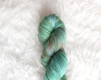 jade buddha - MCN dk weight yarn - merino cashmere nylon
