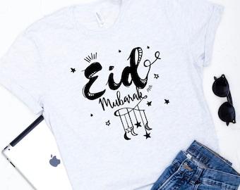 Eid Mubarak, Eid Gifts, Ramadan Shirts, Mens T- Shirts, Muslim Tees, Graphic Tee, Shirts With Sayings, Unisex T-Shirts, Islamic Shirts