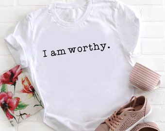 Motivation Gifts, Quote Shirts, Typography Gifts, Graphic Tees, Shirts With Sayings, Unisex T-Shirts, I Am, Quotes Gifts, Ladies, Funny Tees