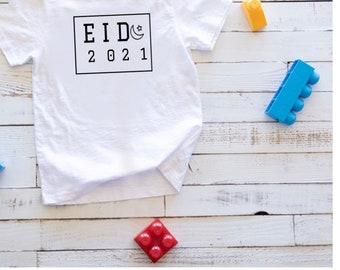 Eid Tshirt, Unisex Eid Tees, Mini Muslim, Ramadan Gifts, My First Eid, Muslim Gifts, Eid Gifts, Ramadan Mubarak, Muslim Baby Shower, Eid