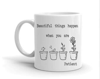 Funny Mugs, Coffee Lovers, Gifts for Him, Gift for Her, Chai Mug, Sarcastic Mug, Mug with Sayings, Muslim Gifts, Patience, Motivational Gift