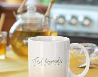 Moving on, Coffee Love, Quote Coffee Mugs, Typography Mugs, Chai Mug, Affirmations Mug, Mug Quotes, Sympathy Gifts, Fail, Motivational Gifts