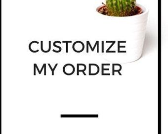 Add on item, T-shirts, Onesie, Mug, Customize Graphic, Edit design