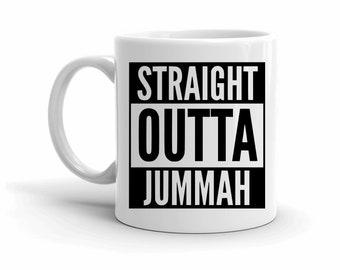 Funny Mugs, Coffee Lovers, Gifts for Him, Ramadan Gifts, Straight Outta, Ramadan Mug, Mug with Sayings, Foodie Gifts, Motivational Gifts