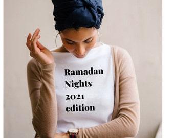 Ramadan Mubarak, Ramadan Gifts, Ramadan Shirts, Family Ramadan Tees, Muslim Tees, Graphic Tees, Unisex T-Shirts, Islamic Shirts, Ramadan 20