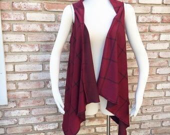 Plaid Gift, Kimono Duster, Kimono Jacket, Fall Cardigan, Kimonos, Kimono Cardigan, Kimono Vest, Thanksgiving Gift, Christmas Gift, Gift Idea