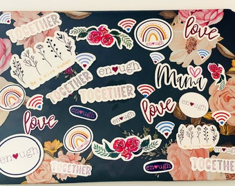 Self Love Self Worth Stickers Valentines Day Stickers Mindset Stickers Laptop Decals Mental Health stickers Journal Stickers Planner Sticker