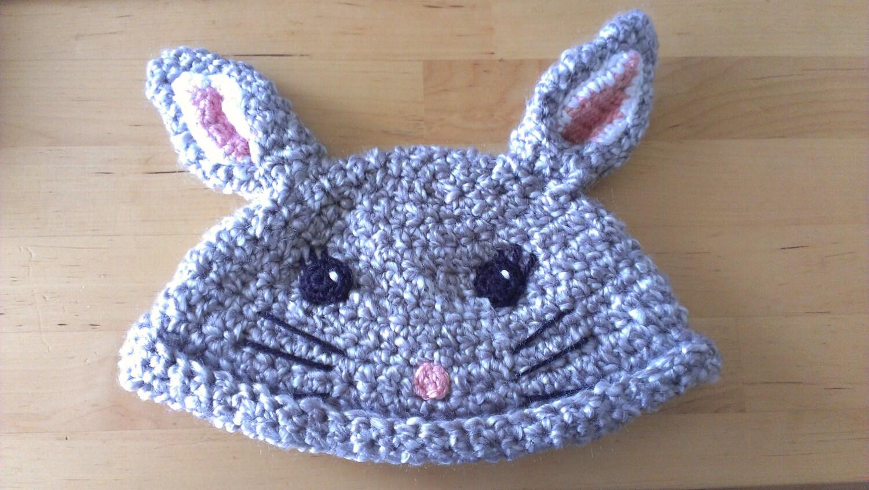 Crochet Hat Pattern Cute Chinchilla Beanie For Babies Amp Etsy