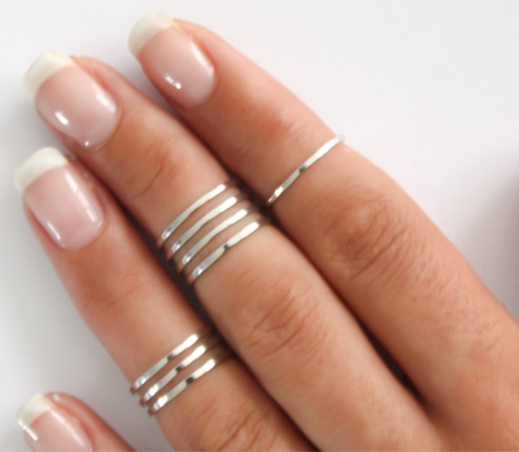 Sterling Silver Knuckle Ring