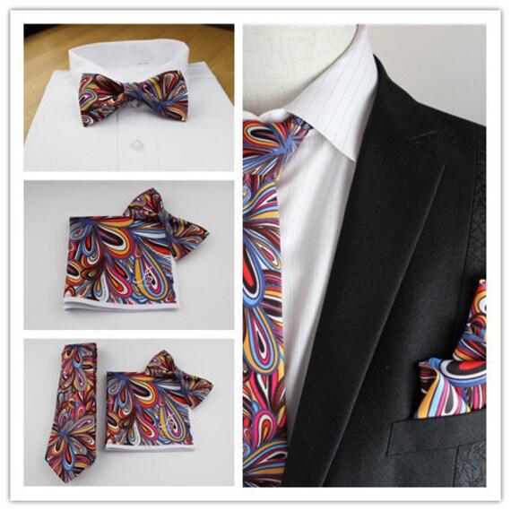 mouchoir de poche pour le noeud papillon color homme noeud etsy. Black Bedroom Furniture Sets. Home Design Ideas