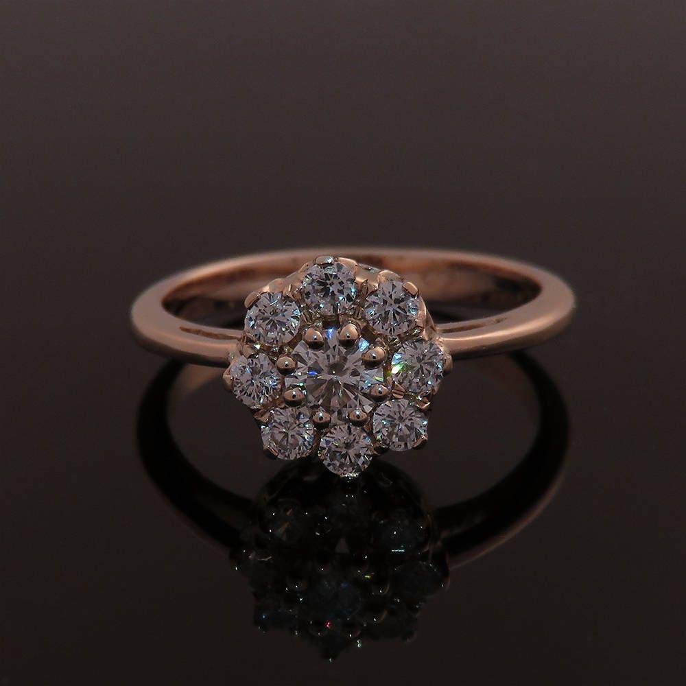 Engagement Ring Rose gold engagement ring image 0