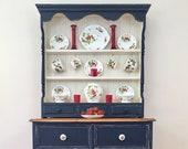 Kitchen dresser, vintage dresser, Welsh dresser, Country Kitchen, kitchen storage, vintage storage, kitchen cabinet, rustic furniture