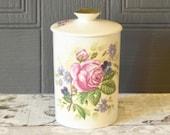 vintage lidded ceramic po...