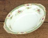 Vintage oval ceramic serv...