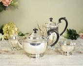 vintage silver plated tea...
