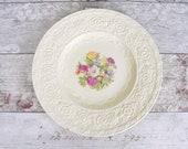 Large vintage plate, crea...
