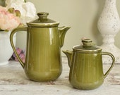 Vintage tea pot and coffe...