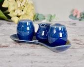 Vintage indigo blue Denby...